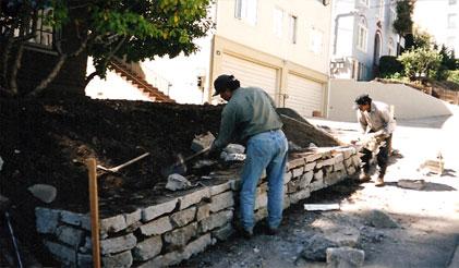 Richmond Retaining Wall