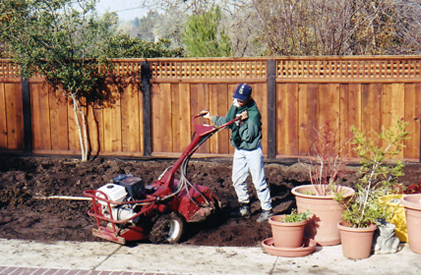 Walnut Creek Rototilling Yard Work