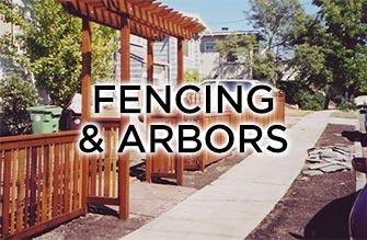 fence and arbor installation and repair