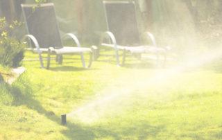 sprinkler system setup